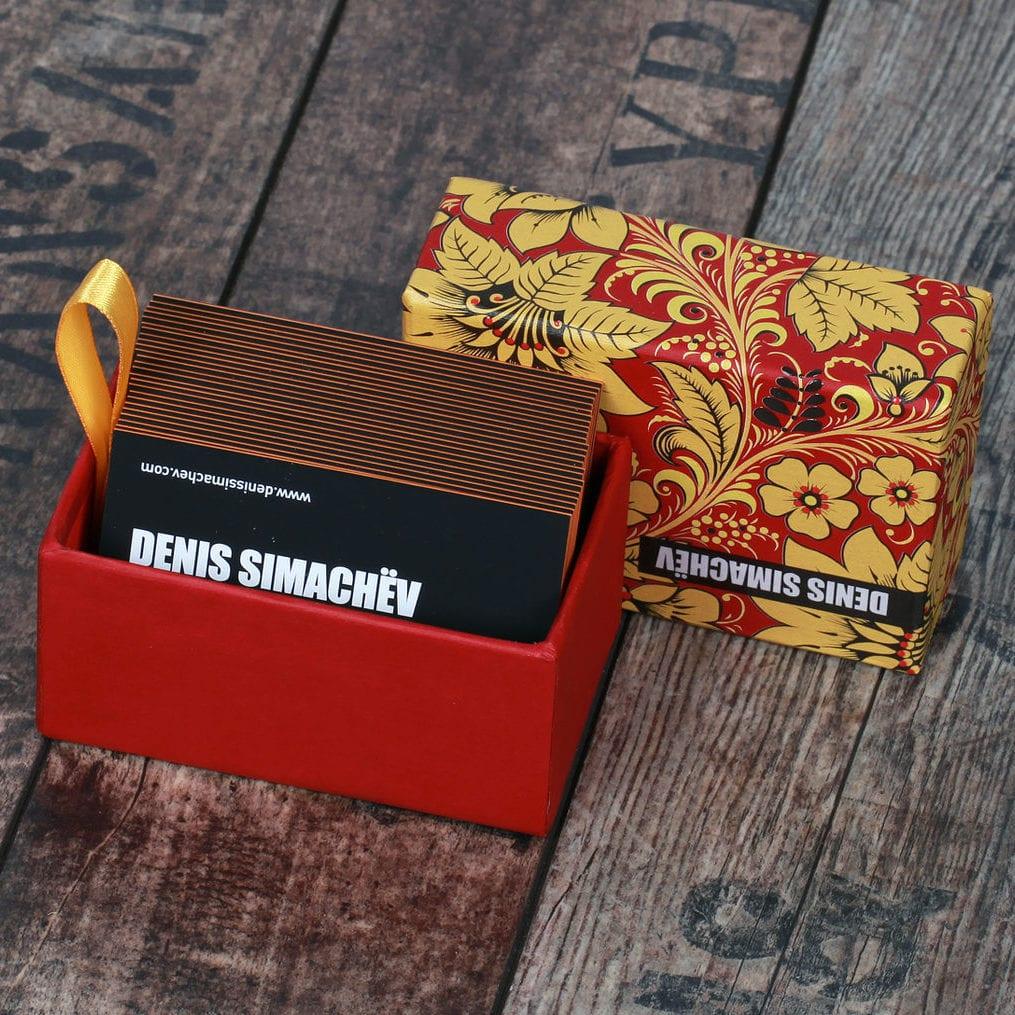Оригинальные визитки для SIMACHEV