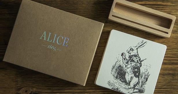 Набор высокой печатью Алиса
