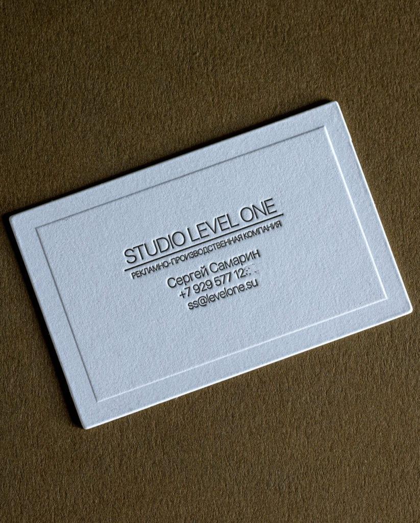 Оригинальные визитки высокая печать.