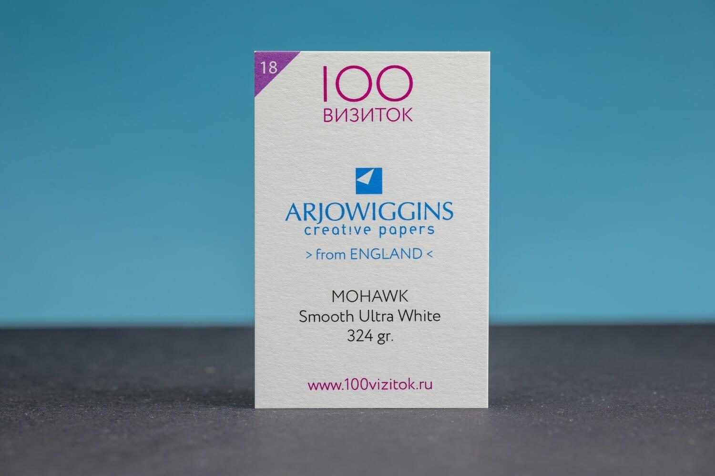 MOHAWK Smooth Ultra White 324 гр.