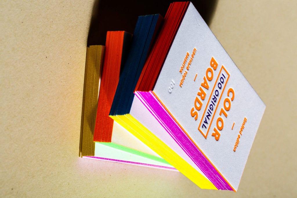 Покраска визиток