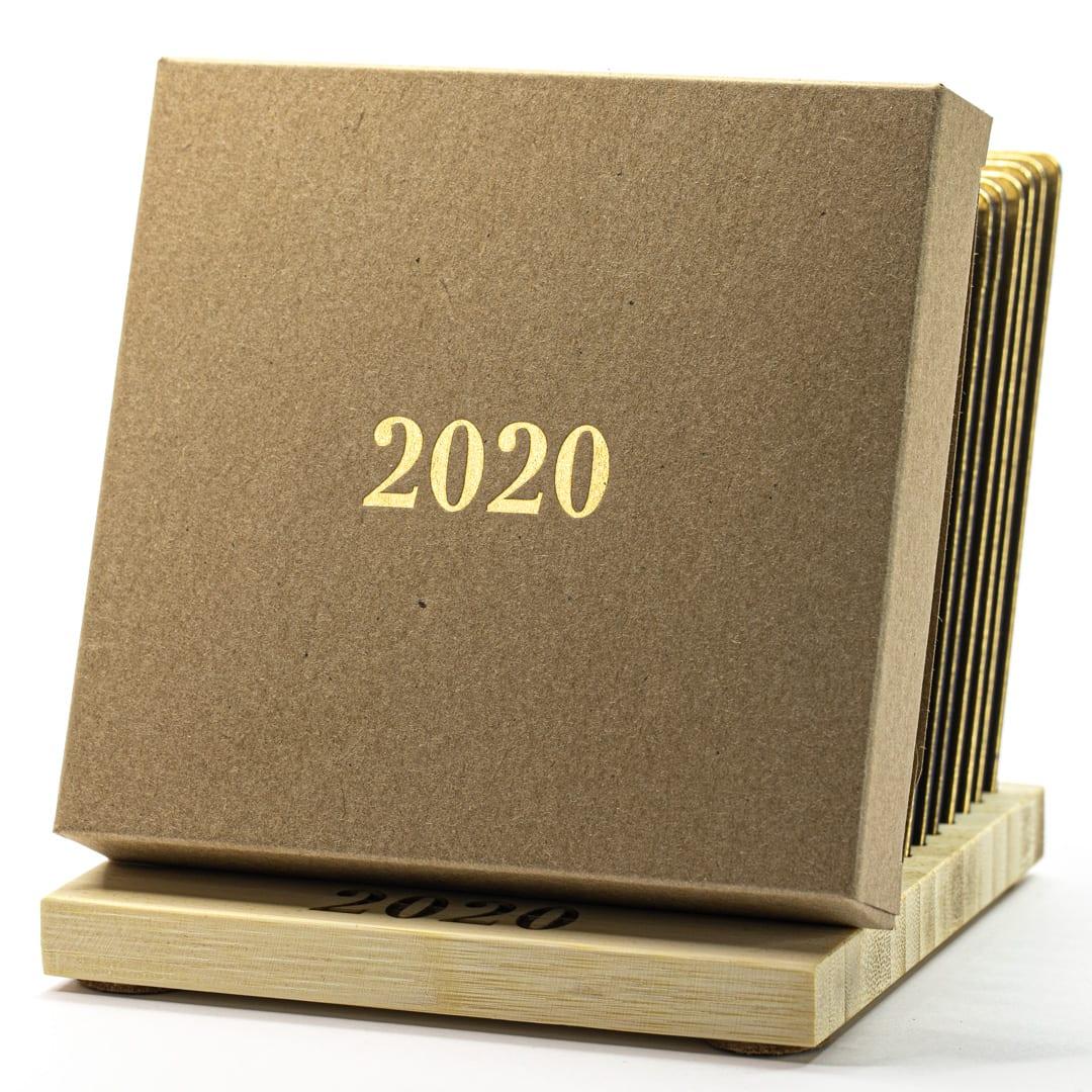 Календарь 2020 на подставке