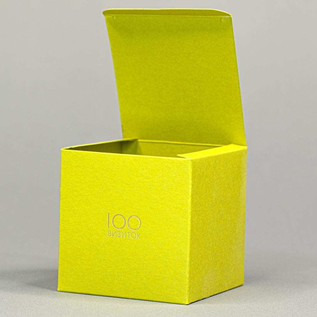 Коробка упаковка куб