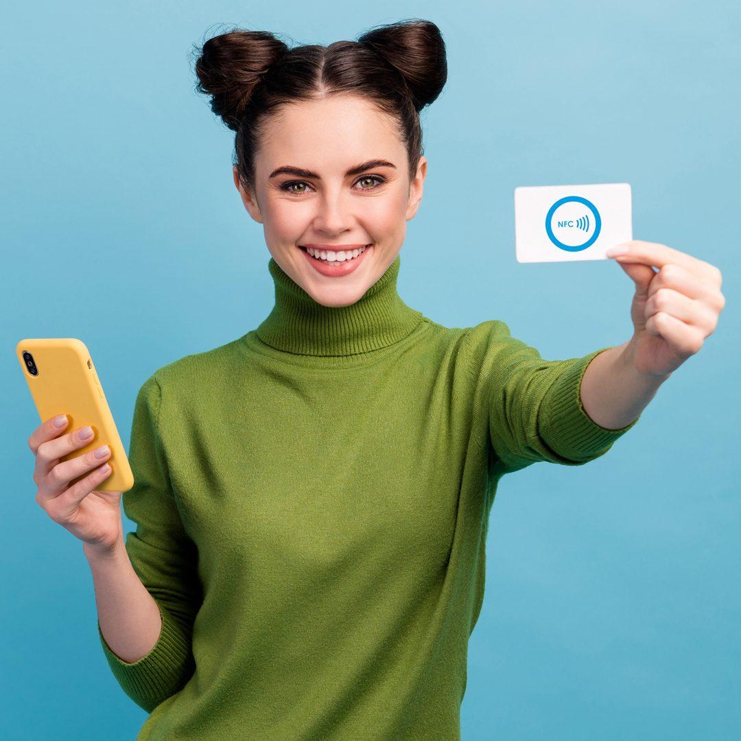 NFC визитки. RFID карты