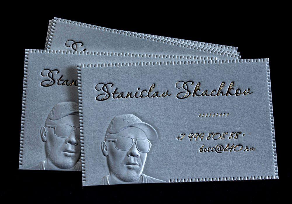 Оригинальные визитки