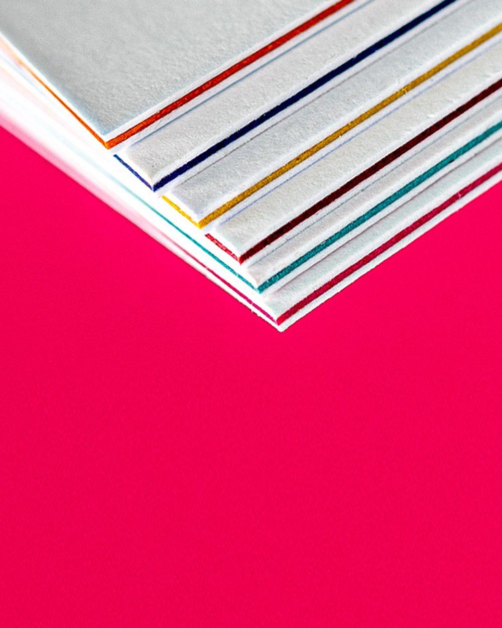 Трехслойные визитки. Визитки TRIPLEX.